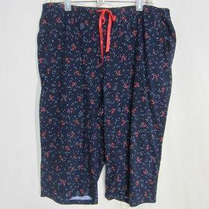 CROFT & BARROW XL KNEE LOUNGE/PJ/CASUAL PANT
